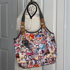 Tokidoki Felice Americana Tote Hobo Handbag